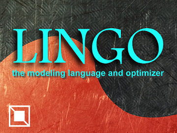 LINGO and optimization modeling